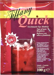 Tiffany Quick raspberry 100gr.