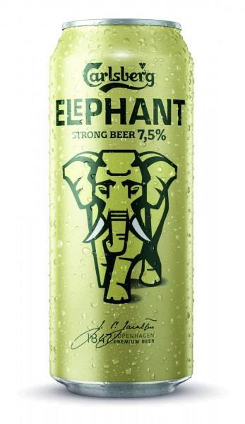 24x 0.5L cans Carlsberg Elephant Beer Starkbier 7.5% Vol EINWEG