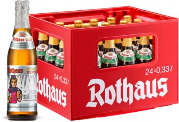 24 x Rothaus Eiszaepfle Maerzen Export 0,33 L- 5,6% Alkohol Originalkiste