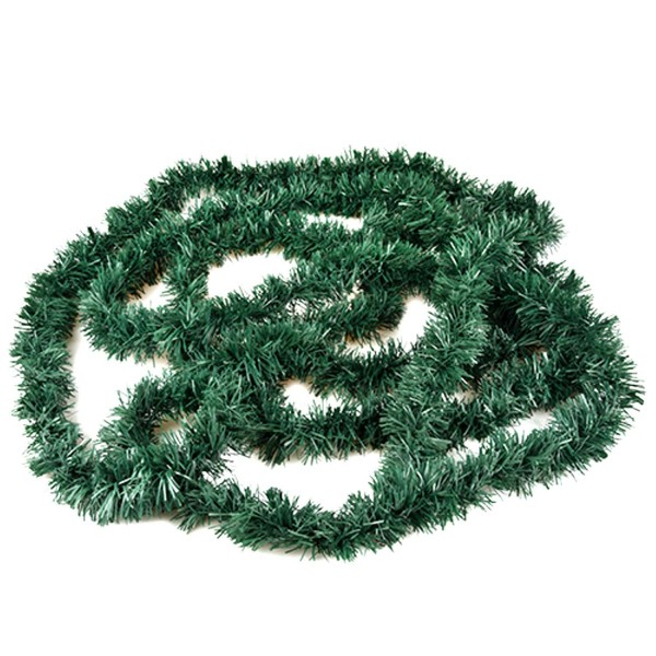 Fixed Garland green plastic grass foil 3 m
