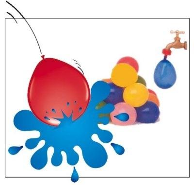 Folatex water balloon balloon 30 cm x 50 PCs