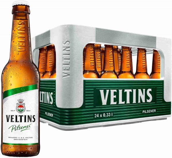 24 x Veltins Pilsener 0.33 liter 4.8% vol. original case