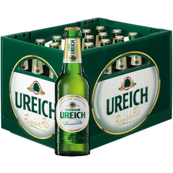20 x Eichbaum Ureich Premium Pils 0.5l 4.9% vol. original case