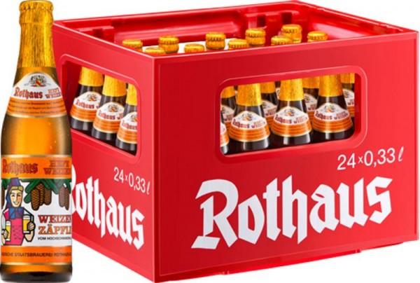 24 x Rothaus Hefeweizen Zäpfle 0.33 L 5.4%