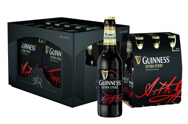 24 x Guinness Extra Scout 0.33 liters 4.1% vol. original case