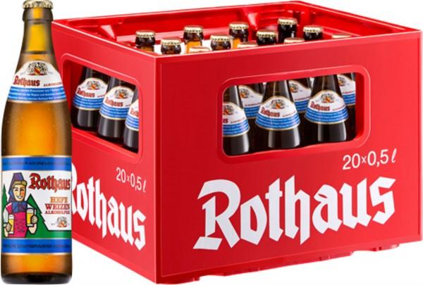 20 x Rothaus Hefeweizen alcohol free 0.5 L