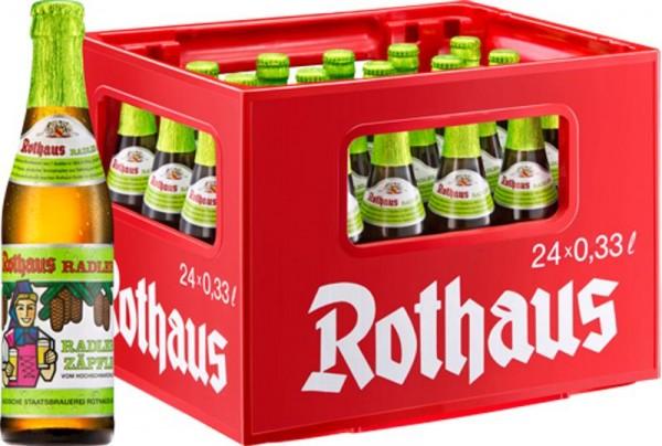 24 x Rothaus Radler Tannenzäpfle 0.33 L 2.4% alcohol