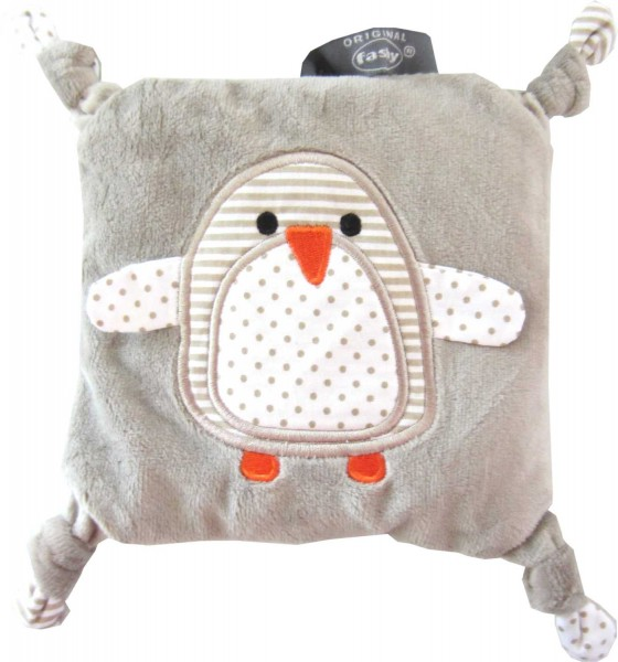 Child rape heat Packs with Penguin motiv 6383 14x14 cm