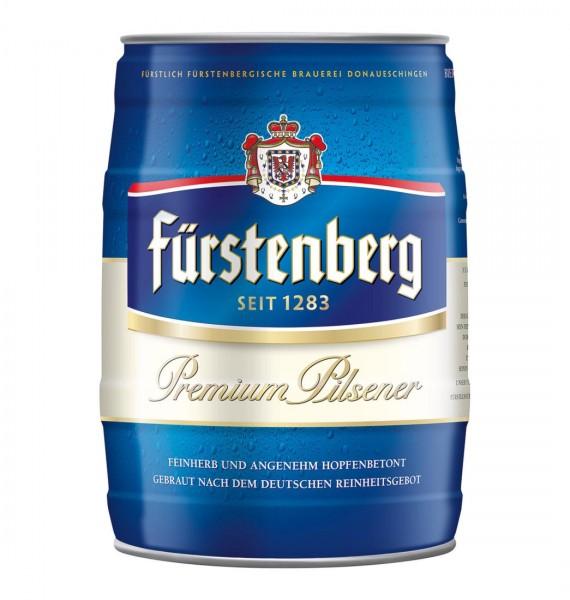 Furstenberg keg 5 liters of 4.8% vol
