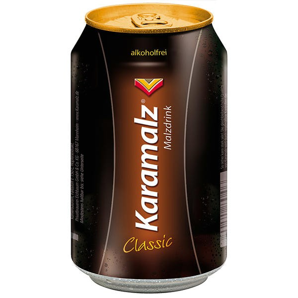 24 x cans of Karamalz Classic 0.33L cans non-alcoholic disposable