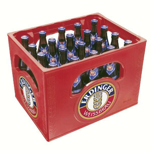 20 x Erdinger wheat Beer Alcohol free 0.5L Original box Weissbier