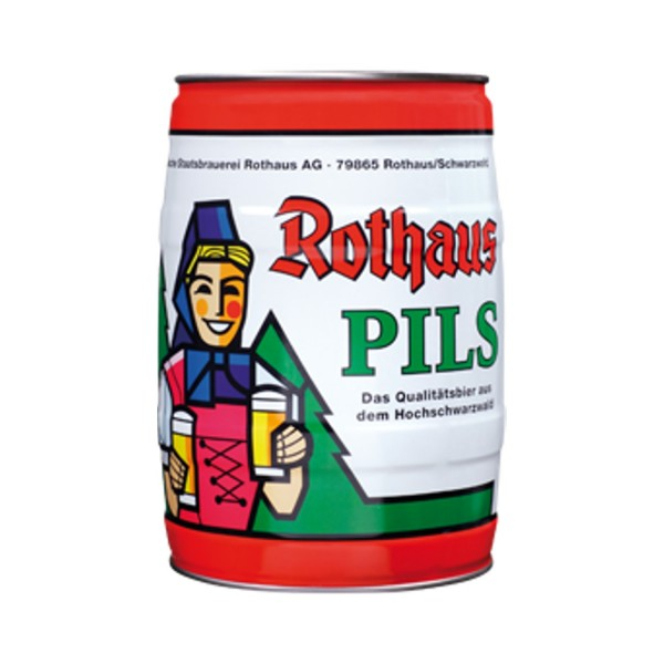 Rothaus Pils 5 L Party Box 5.1 vol%