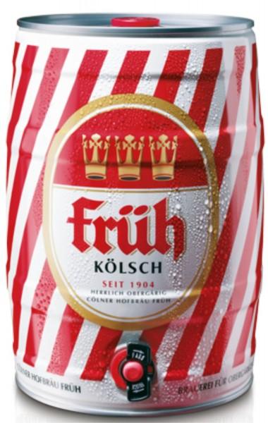 Frueh Koelsch 5 L party barrel 4.8% vol.