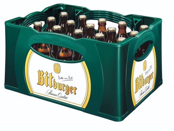 20 x Bitburger Premium Pils 0,33l - Steini Fläschle 4.8% vol. original case