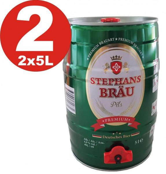 2 x Prost Beer Pils 5 liters 4,9% vol. Party keg