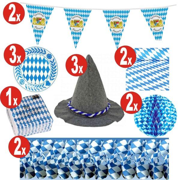 15 piece Oktoberfest decoration set_15 = 141 items