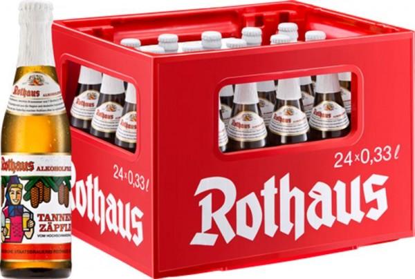 24 x Rothaus alcohol free Tannenzäpfle 0.33 L