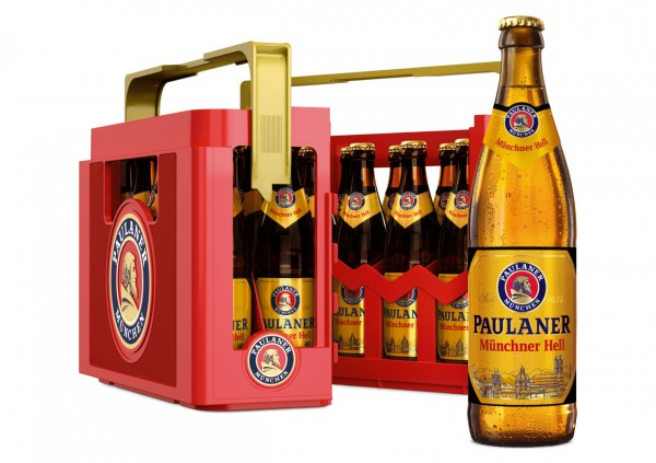 the best beer gardens of Munich Paulaner beer Weissebier