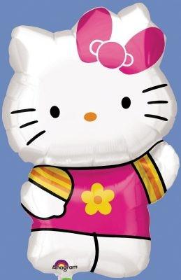 Foil balloon...Kitty figure