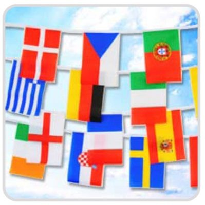 Flag chain...International...5 m