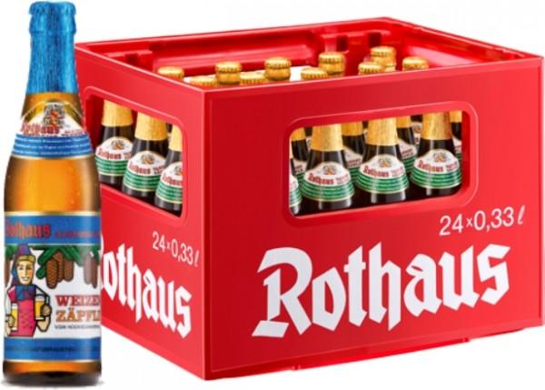 24 x Rothaus Hefeweizen alcohol free 0,33 L
