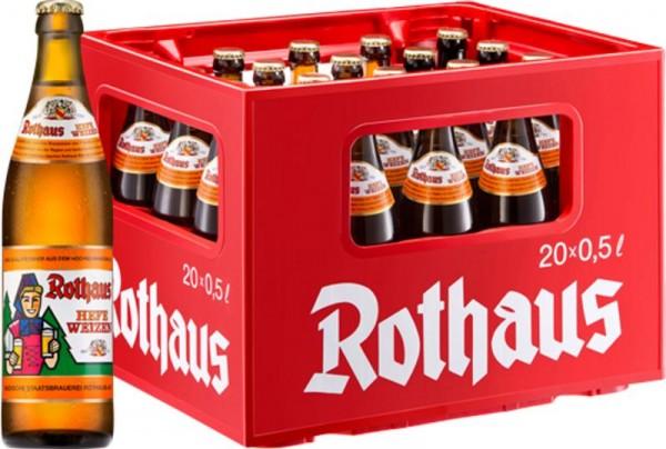 20 x Rothaus Hefeweizen 0.5 L 5.4% vol.