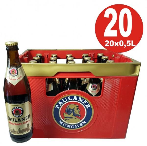20 x Paulaner Munich original type 0.5 L - 5.0% alcohol Original box