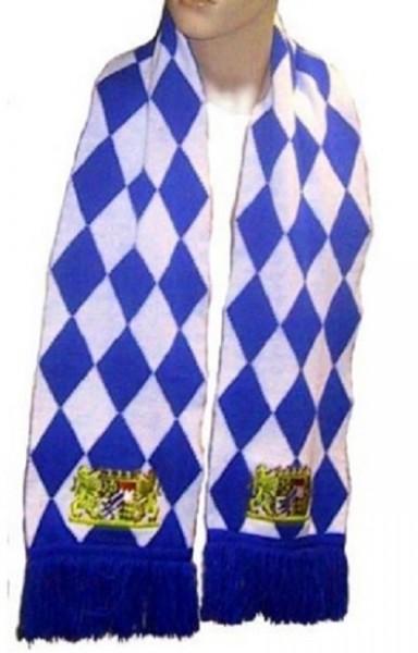 Bayern scarf fan scarf 180 x 21 cm heavy quality, embroidered crest