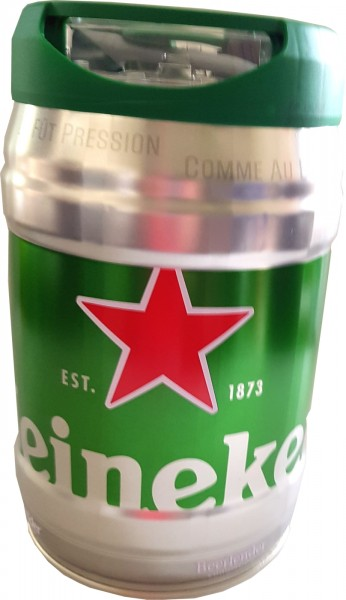 Heineken beer barrel 5L DraughtKeg 5% vol.