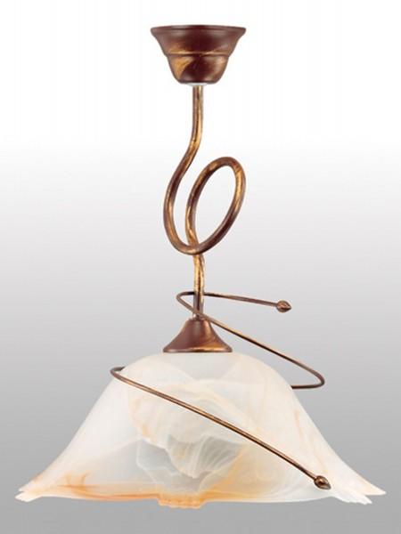 Lampex Pendelleuchte Sanki 1 metal/glass 43 x 36 cm