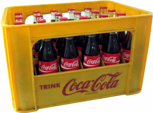 24 x Coca-Cola Classic 0.33L original case glass bottle