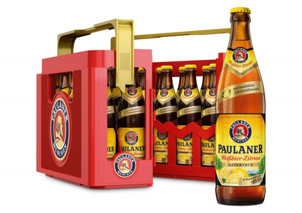 20 x Paulaner Weissbier Lemon Russ 0.5 L 2.7% vol. Original case
