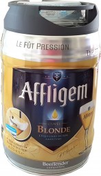 Affligem blonde keg 5-liter drum incl. Spigot 6.8% vol.