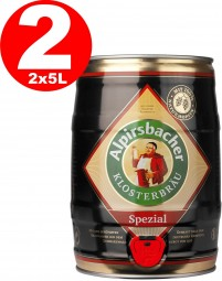 2 x Alpirsbacher Special 5,2% vol. 5 liters of party barrel
