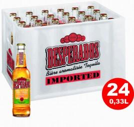 24 x Desperados Tequila Beer 0.33 liter 5,9 % vol.