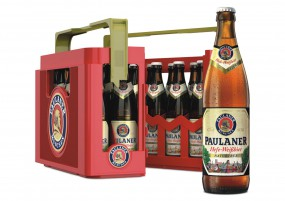 20 x Paulaner wheat beer naturtrüb 0.5 L - 5.5% alcohol in their original case