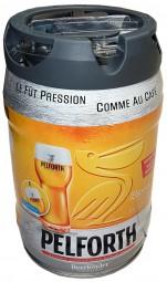 Pelforth beer blonde 5 liter party keg 5,8% vol. with tap