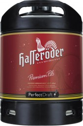 Hasseroeder beer Perfect Draft Permium Pils 6 liter keg 4.9% vol.