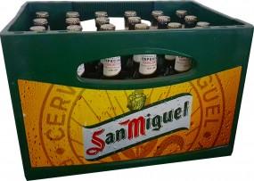 24 x San Miguel Especial 5.4% vol. 0.33l original case