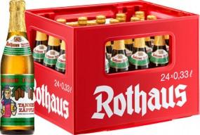 24 x Rothaus Tannenzäpfle 0.33 L 5.1% alcohol