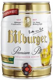 Bitburger Premium Pils 5 liter keg 4,8% vol